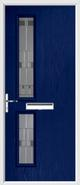 2 Square Door lignum glass