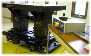 The Air Force Office of Scientific Research (AFOSR) 3-Axis Optical Table