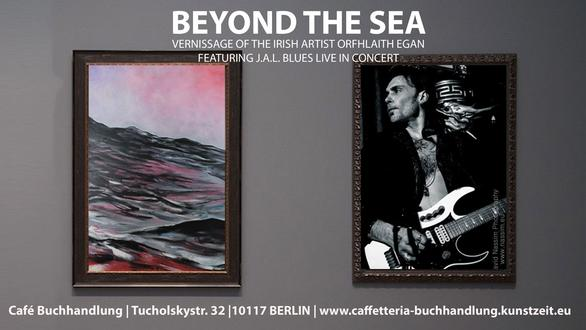 April 2018. Solo Exhibition. Beyond the Sea. Paintings and limited edition fine art prints by Irish artist Orfhlaith Egan. Vernissage 31.03.2018 Café Buchhandlung, Tucholskystraße 32, 10117 Berlin-Mitte.