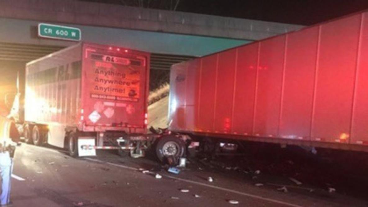 One Killed In Crash Involving Two Semi Trucks On I-94 Near