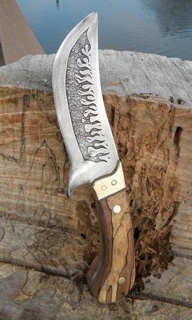 Leaf Spring Knife Making