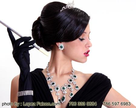 Breakfast at Tiffany's quinces party Quinceanera photography video dresses miami Breakfast at Tiffanys Tiffany & co