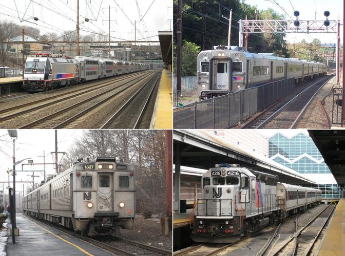A Sample of New Jersey Transit services.