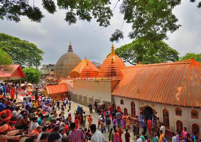 Kamakhya Temple and North east india travel