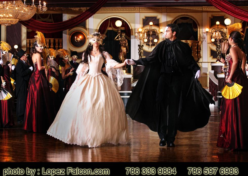 The Phantom Of The Opera Dance Party Parties Miami Stage Decoration Video Quinces Pghotography