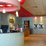 Orlando Architects showing a interior photo of Simply Frozen Yogurt of Orlando Florida