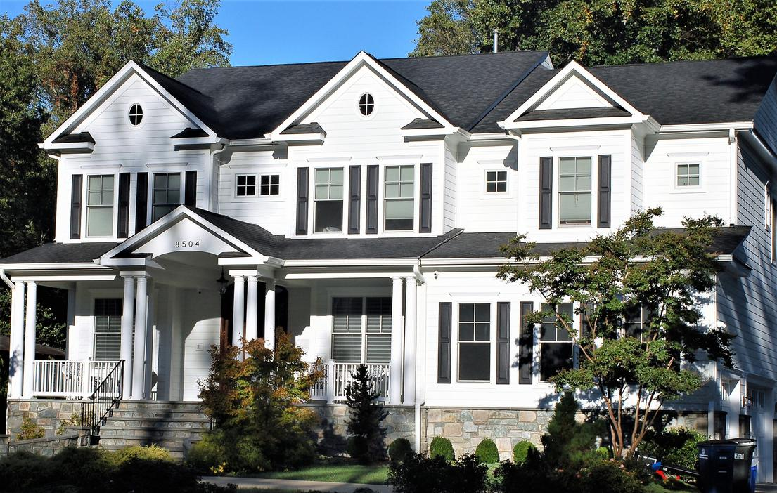 Hardie Siding Arctic White Siding Contractors Bethesda, MD