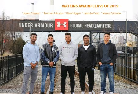 MEET THE WATKINS AWARD CLASS OF 2019