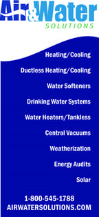 Air & Water Solutions Product Services