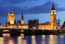 Big Ben y Houses of Parliament de noche