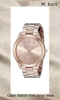 Product specifications Watch Information Brand, Seller, or Collection Name Michael Kors Model number MK3197 Part Number MK3197 Model Year 2016 Item Shape Round Dial window material type Mineral Display Type Analog Clasp Fold-over-clasp-with-double-push-button-safety Metal stamp NA Case material Stainless steel Case diameter 42 millimeters Case Thickness 8 millimeters Band Material Stainless steel Band length Women's Standard Band width 12 millimeters Band Color rose gold Dial color rose gold Bezel material Stainless steel Bezel function Unidirectional Calendar Date Special features measures-seconds Item weight 4 Ounces Movement Analog quartz Water resistant depth 165 Feet,michael kors watch