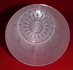 best clear 5 inch orchid saucer with clear plastic orchid pot 4 inch round slots small cone extra drainage air circulation