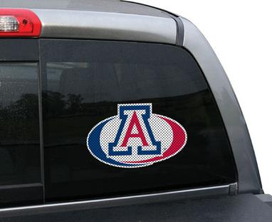 Arizona_Wildcats_Small_Perforated_Window_Film_Swoosh_NCAA_College_Decals_Stickers