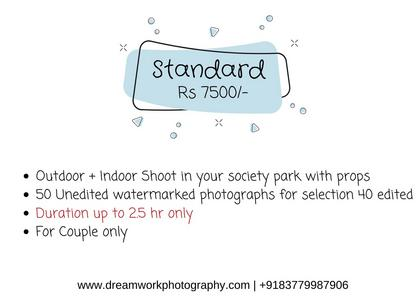 Our Maternity photo shoot package starts from Rs. 6500 in delhi for outdoor pregnancy photo session.