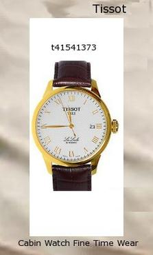Watch Information Brand, Seller, or Collection Name Tissot Model number T41.5.413.73 Part Number T41.5.413.73 Item Shape Round Dial window material type Anti reflective sapphire Display Type Analog Clasp Deployant-buckle Case material Stainless steel Case diameter 38 millimeters Case Thickness 11 millimeters Band Material Leather Band length Men's Standard Band width 18 millimeters Band Color Brown Dial color White Bezel material Stainless steel Bezel function Stationary Calendar Date Special features skeleton automatic, leather strap Item weight 16 Ounces Movement Automatic Water resistant depth 99 Feet