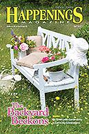 Happenings Magazine, featuring New Hope and the Wedgwood Inn Bed & Breakfast