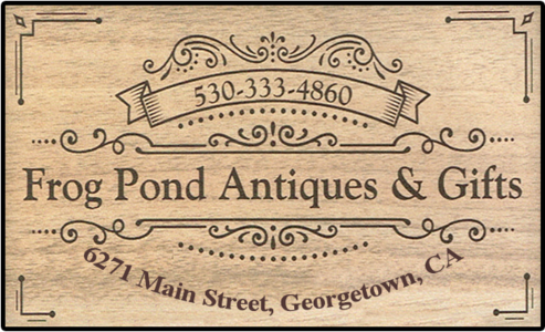 Frog Pond offers Antiques, unique gifts and a great atmosphere!!!