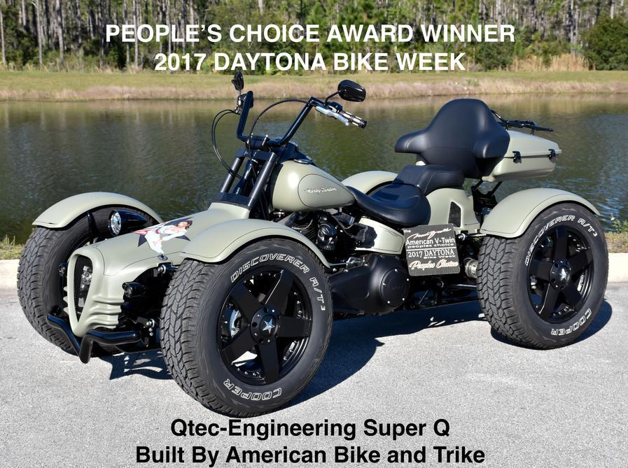 Chrome Color Only Trike Conversion Kit Motorized Trike