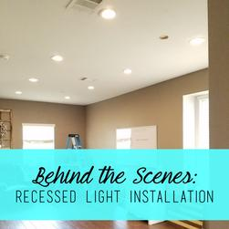 Austin Recessed Light Install - Can Lights - Pot Lights - Austin Electrician - Top Austin Electrician