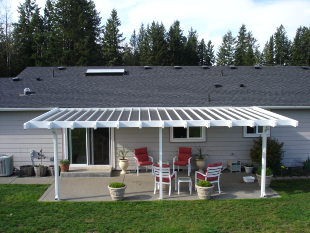 aluminum patio cover awning aa patio covers puyallup washington