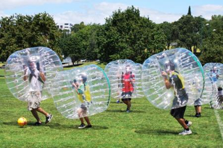 bubble soccer for all ages