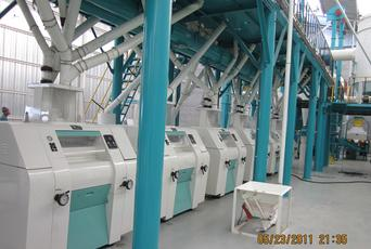 automatic roller mill for wheat flour machine