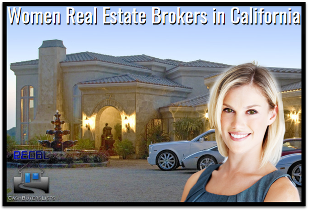 Women Real Estate Brokers in California