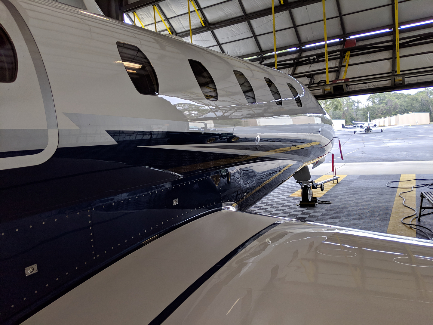 Aircraft Cleaning, Aircraft Painting - Johnson Aviation Services