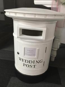 pillar box wedding hire sussex www.sweetdreamscandycart.co.uk