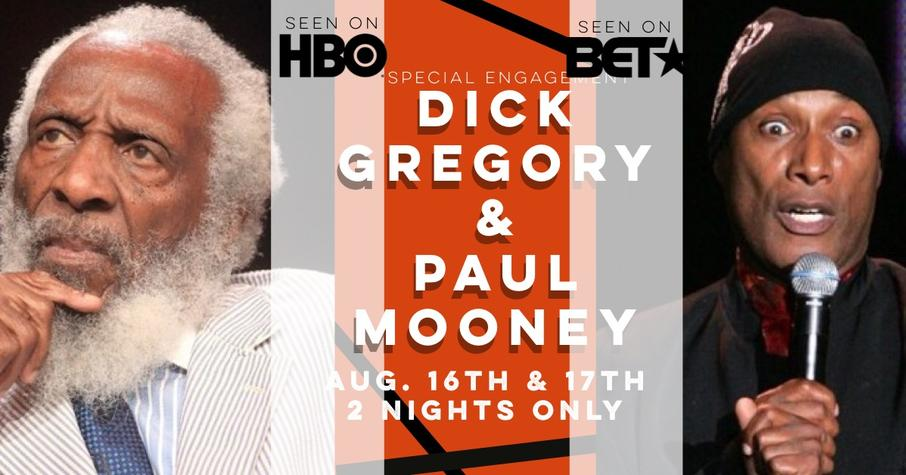 paul mooney, dick gregory, uptown comedy punchline atlanta comedy