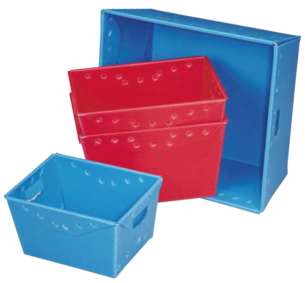 corrugated plastic totes and boxes corrugated plastic sheet