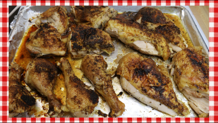 Budget Buster Bulk Cooking Roast Chicken Recipe, Noreen's Kitchen