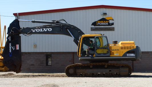Volvo Hydraulic Excavator Ec330blc