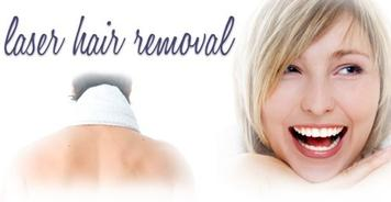 smiling woman who had laser hair removal