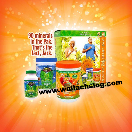 Healthy Body Start Pak Youngevity at The Wallach Log