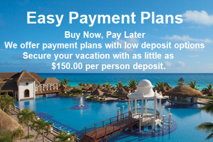 Easy Escapes Travel offers payment plans + low deposit options