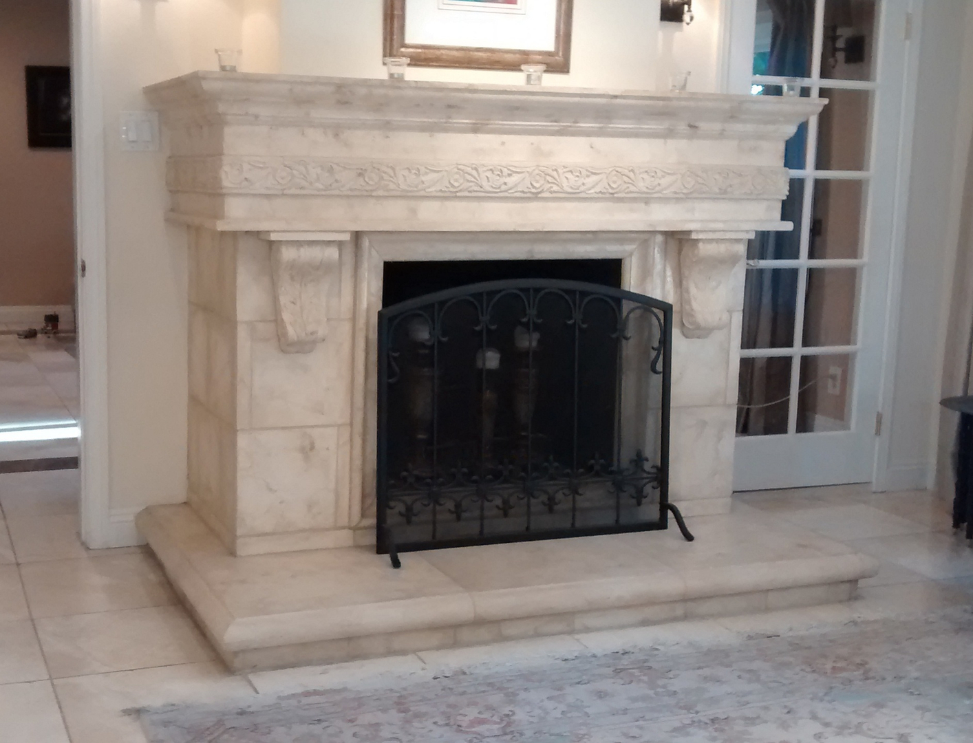 dp pearl improvement fireplace unfinished pictures of home inch williamsburg mantels mantel com amazon