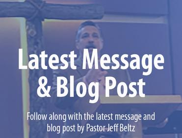 Rocky Mountain Chapel Latest Message & Blog Post
