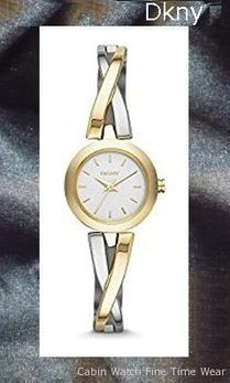 DKNY Women's NY2171 CROSSWALK Gold Watch