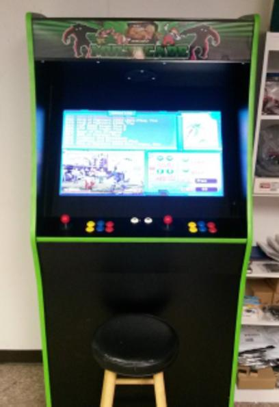 video multicade arcade game
