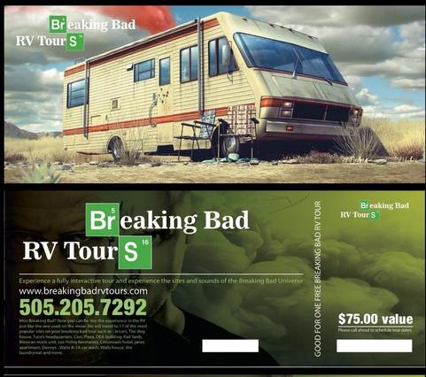 Breaking Bad Gift Certificate