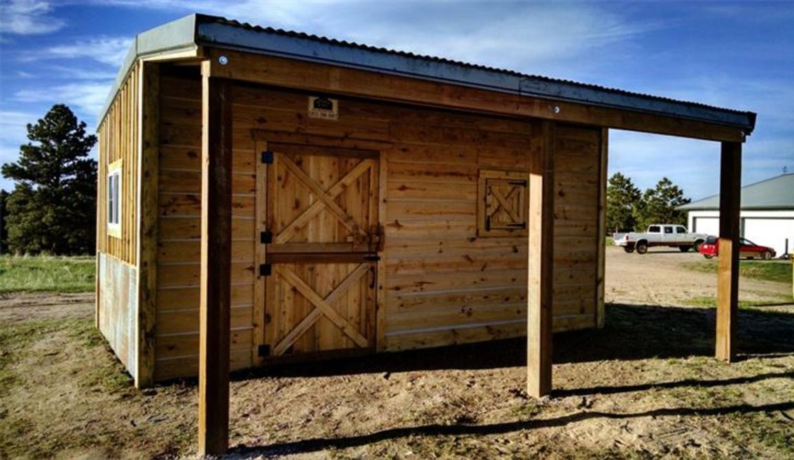 Tack Room, Hay storage, Horse shed, Alpaca Shed, Dutch Doors