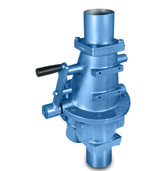 Conveying Cast Diverter Valve