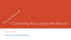 Controlling Your Layout with Arduino