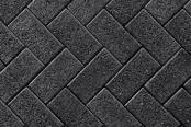 Unilock Walkway Paver Series 3000 in Black Granite Color