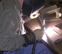 Welding repair to parts