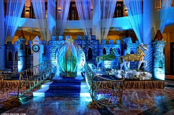Stage quinceanera party miami quince parties cinderella quinces photography video dresses Miami