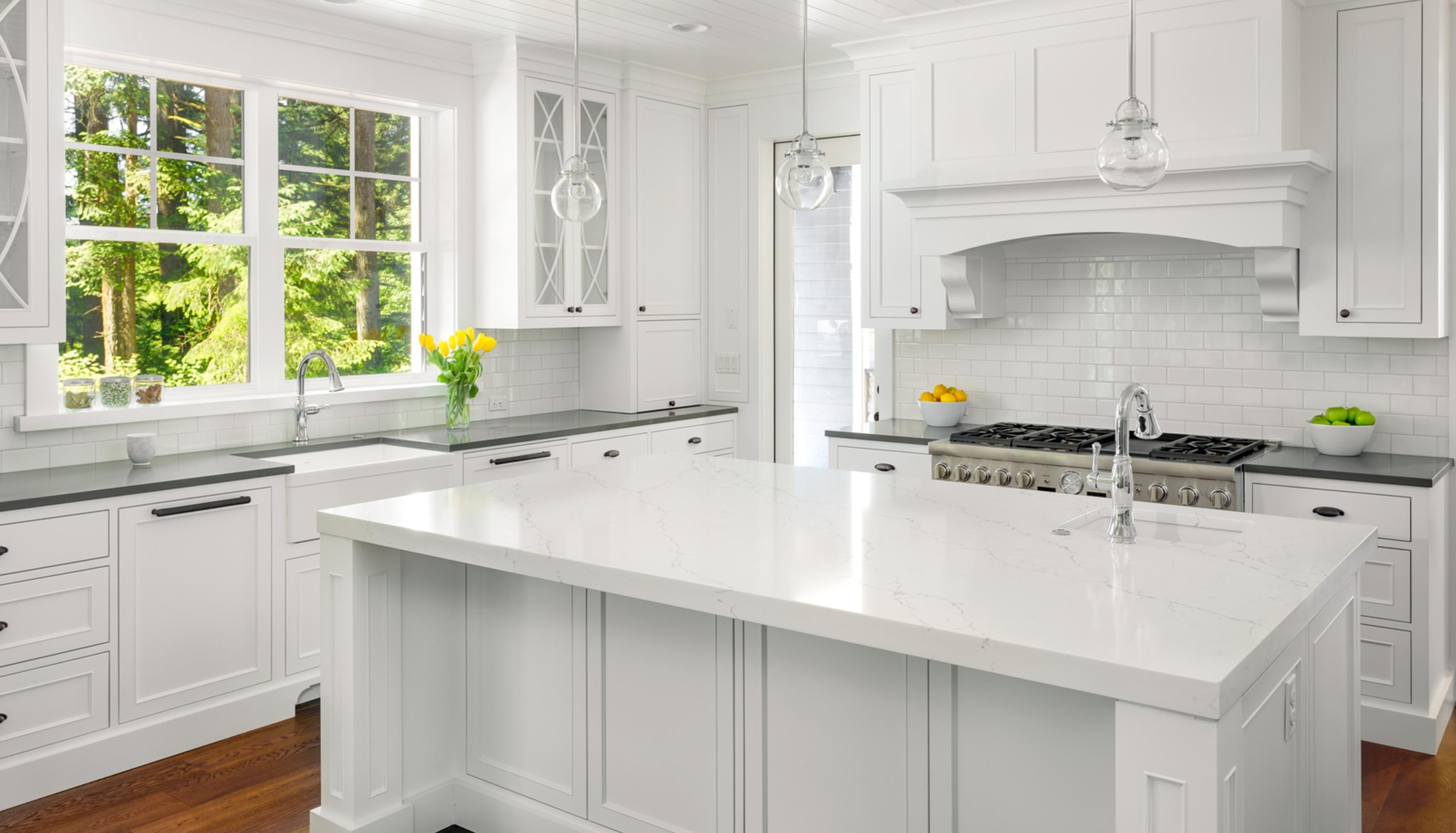 newly painted kitchen cabinets Seattle WA