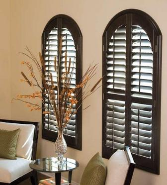 Shutters with Arches