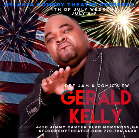 gerald kelly atlanta comedy uptown comedy punchline comedy